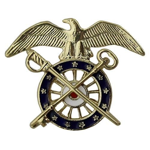 Quartermaster Brite Pin-on - Insignia Depot
