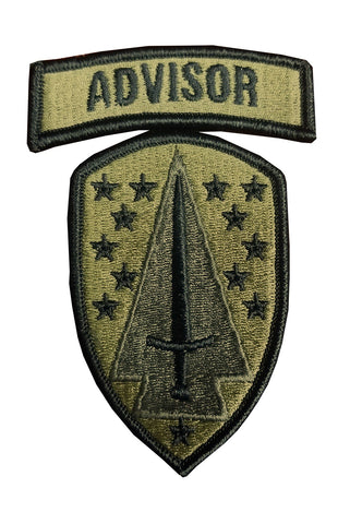 1st Security Force Assistance Brigade OCP Patch with Hook Fastener (pair) - Insignia Depot