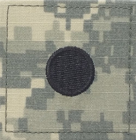 O1 ROTC 2nd Lt. ACU Rank with Hook Fastener - Insignia Depot
