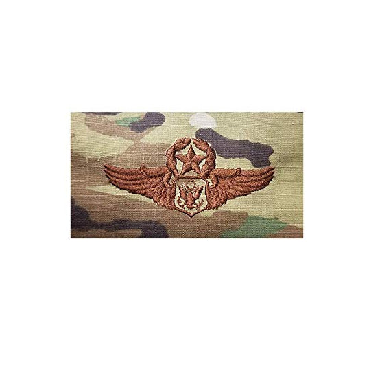US Air Force Officer Aircrew Master OCP Spice Brown Badge - Insignia Depot