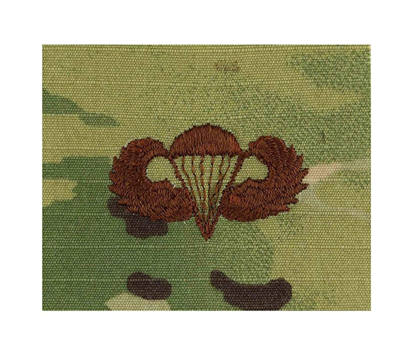 US Air Force Parachutist Basic OCP Spice Brown Sew-on Badge - Insignia Depot