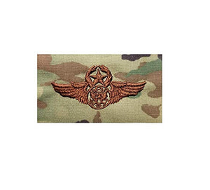 US Air Force Chief Enlisted Aircrew OCP Spice Brown Sew-on Badge - Insignia Depot