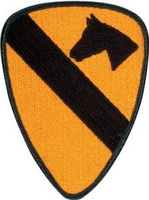 1st Calvary Divison Color Sew-on Patch - Insignia Depot