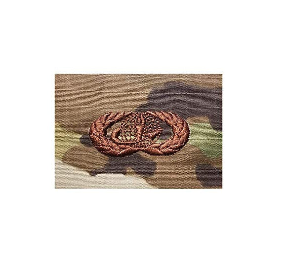 US Air Force Force Support Basic OCP Spice Brown Sew-on Badge - Insignia Depot