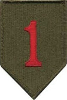 1st Infantry Division Color Sew-on Patch - Insignia Depot
