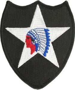2nd Infantry Division Color Sew-on Patch - Insignia Depot