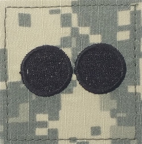O2 ROTC 1st Lt. ACU Rank with Hook Fastener - Insignia Depot