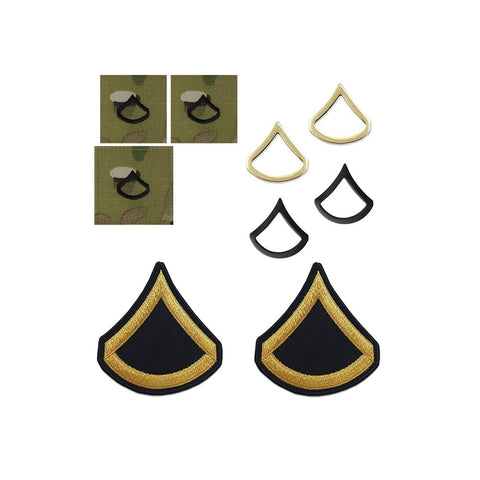 US Army E3 Private First Class Rank Bundle - Insignia Depot