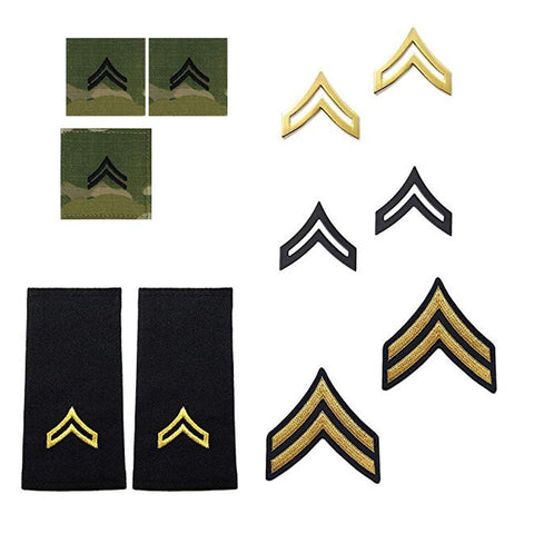 US Army E4 Corporal Rank Bundle - Insignia Depot