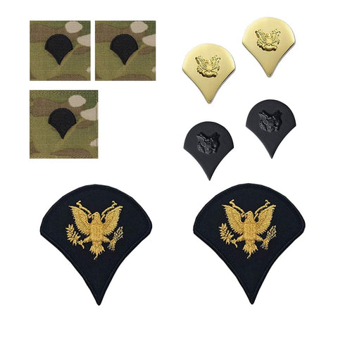 US Army E4 Specialist Rank Bundle - Insignia Depot