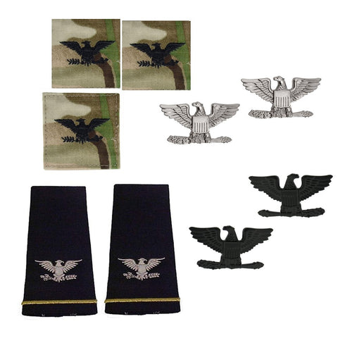 US Army O6 Colonel Rank Bundle - Insignia Depot
