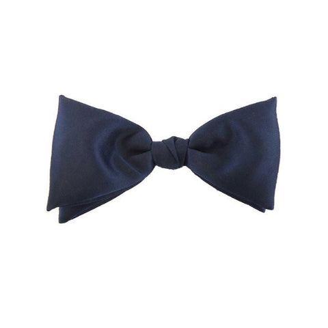 US Air Force Blue Satin Bow Tie with Clip - Insignia Depot