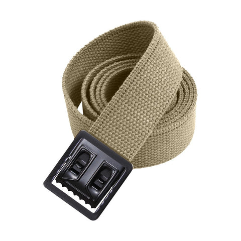 Nylon Belt with Black Open Face Buckle and Tip - Insignia Depot