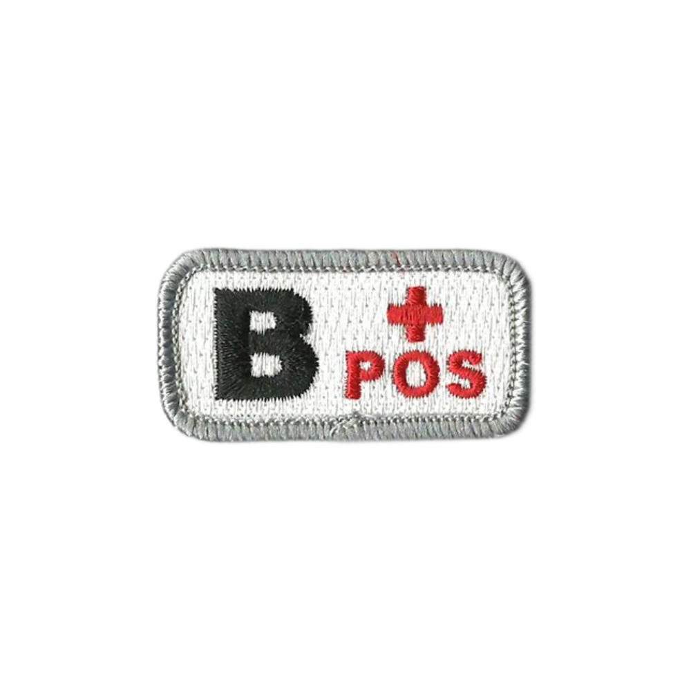B+ Blood Type Medic Patch with Hook Fastener - Insignia Depot