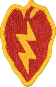 25th Infantry Division Color Sew-on Patch - Insignia Depot