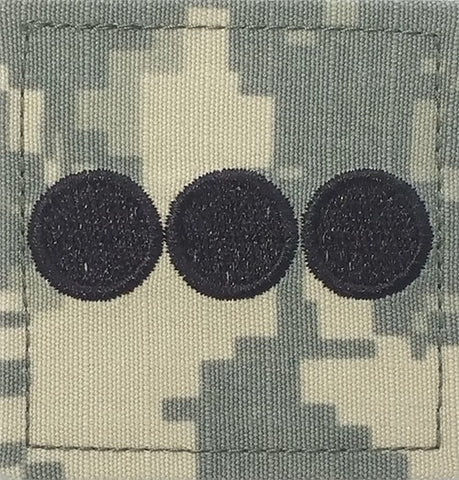 O3 ROTC Captain ACU Rank with Hook Fastener - Insignia Depot