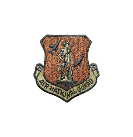 US Air Force Air National Guard OCP Scorpion Spice Brown Patch with Hook Fastener - Insignia Depot