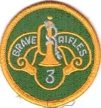 3rd Armored Cavalry Regiment (Brave Rifles 3) Color Sew-on Patch - Insignia Depot