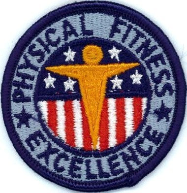 Physical Fitness Excellence Color Sew-on Patch - Insignia Depot
