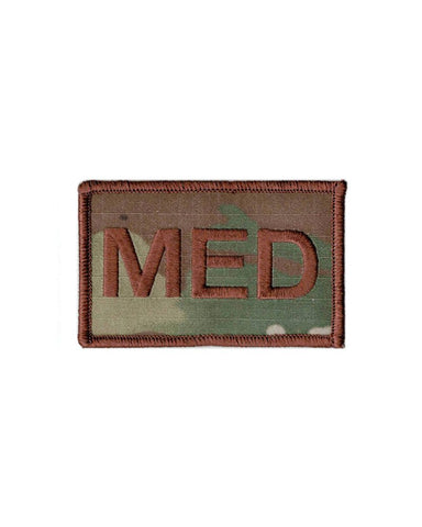 US Air Force Medical MED CAMO Fully Emroidered Brassard With Hook Fastener - Insignia Depot