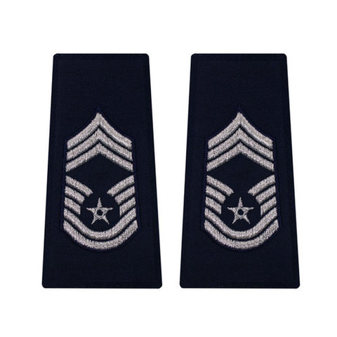 US Air Force Chief Master Sergeant Epaulets - Insignia Depot
