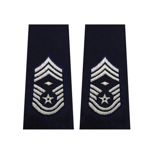 US Air Force Chief Master Sergeant With Diamond Epaulets - Insignia Depot