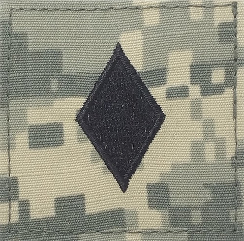 O4 ROTC Major ACU Rank with Hook Fastener - Insignia Depot