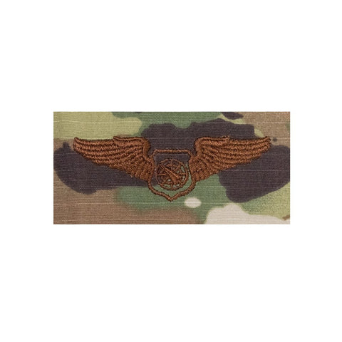 US Air Force Air Battle Manager OCP Spice Brown Badge - Insignia Depot