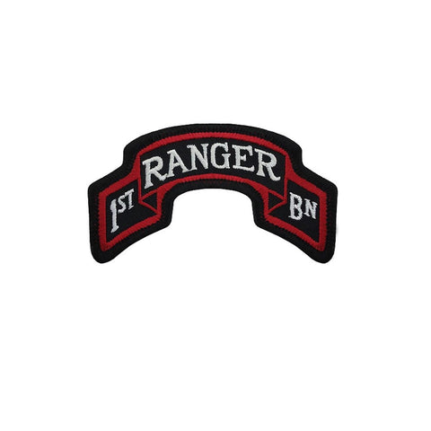 75th Ranger Regiment 1st Battalion Color Scroll Sew-On (pair) - Insignia Depot
