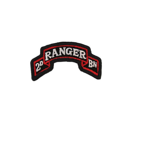 75th Ranger Regiment 2nd Battalion Color Scroll Sew-On (pair) - Insignia Depot