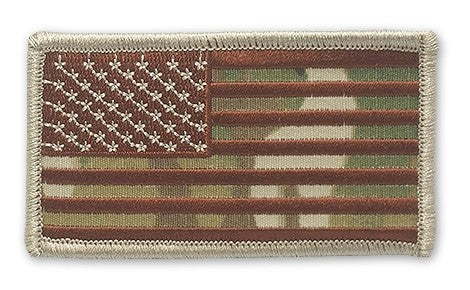U.S. Flag Reg. OCP Patch with Hook Fastener - Insignia Depot