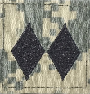 O5 ROTC Lt. Colonel ACU Rank with Hook Fastener - Insignia Depot