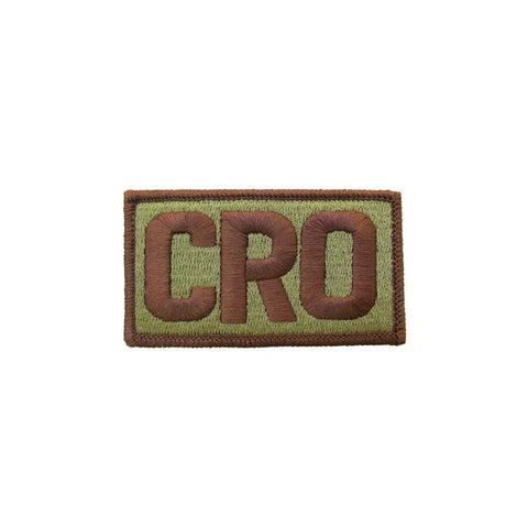 US Air Force CRO OCP Brassard with Spice Brown Border and Hook Fastener - Insignia Depot