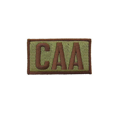 US Air Force CAA OCP Brassard with Spice Brown Border and Hook Fastener - Insignia Depot