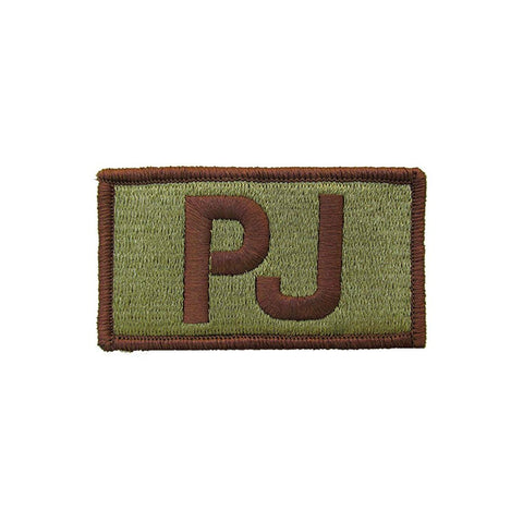 US Air Force PJ OCP Brassard with Spice Brown Border and Hook Fastener - Insignia Depot