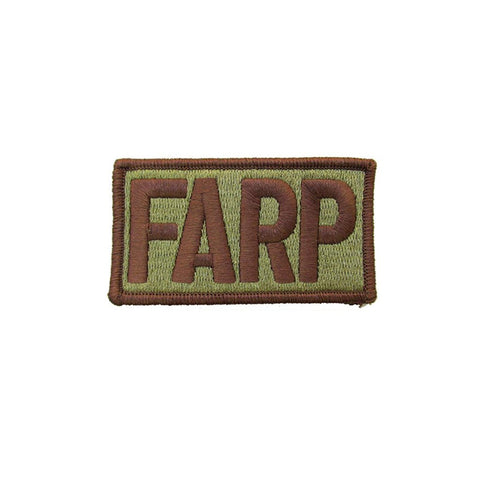 US Air Force FARP OCP Brassard with Spice Brown Border and Hook Fastener - Insignia Depot