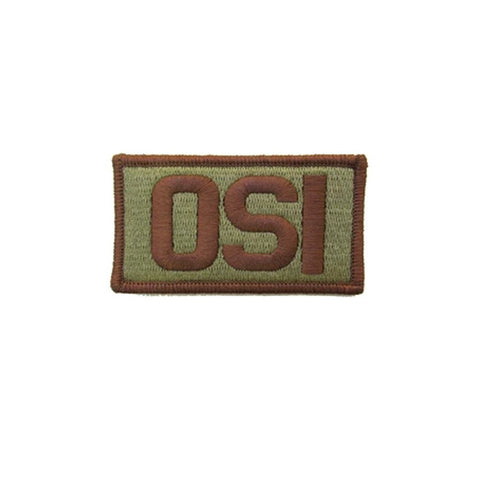 US Air Force OSI OCP Brassard with Spice Brown Border and Hook Fastener - Insignia Depot
