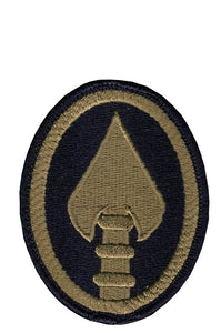 Special Ops Command (U.S. Army Element) OCP Patch with Hook Fastener (pair) - Insignia Depot