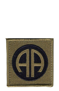 82nd Airborne Division OCP Patch with Hook Fastener (pair) - Insignia Depot