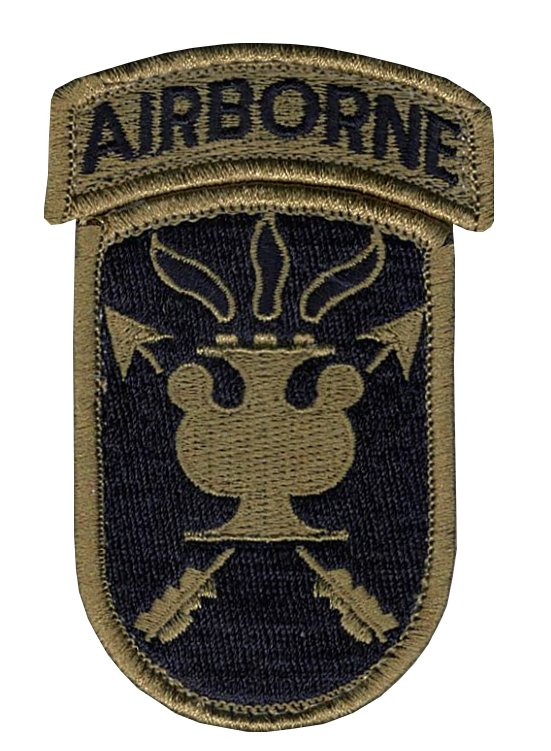 JFK Special Warfare OCP Patch with Hook Fastener and Airborne Tab (pair) - Insignia Depot