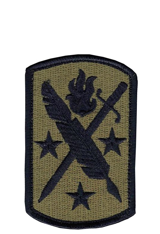 95th Civil Affairs OCP Patch with Hook Fastener (pair) - Insignia Depot