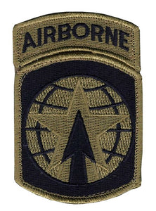 16th Military Police OCP Patch with Hook Fastener and Airborne Tab (pair) - Insignia Depot