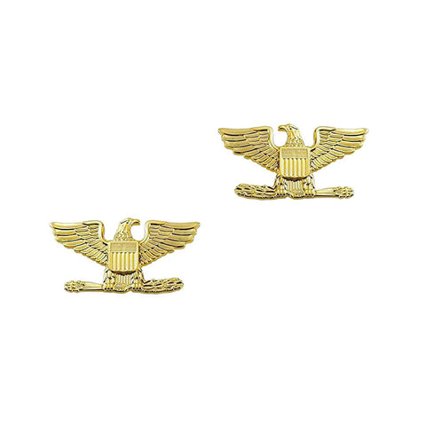 "Police Colonel Gold Rank Pin 1.5"" Pair - Insignia Depot"