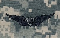 Aviation Aircrew Basic ACU Sew-on Badge - Insignia Depot