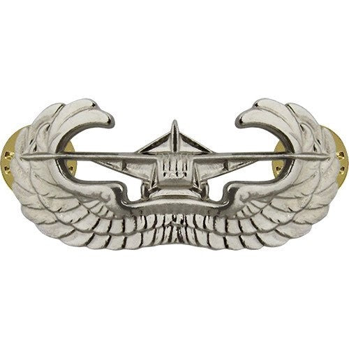 Airborne Glider Brite Pin-on Badge - Insignia Depot