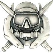 Diver Special Operations Brite Pin-on Badge - Insignia Depot