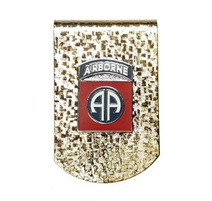 82nd Airborne Money Clip - Insignia Depot