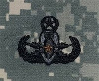 Explosive Ordnance Disposal Master ACU Sew-on Badge - Insignia Depot