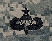 Parachutists (Jump Wings) Senior ACU Sew-on Badge - Insignia Depot