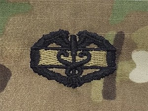 Combat Medical 1AWD OCP Sew-on Badge - Insignia Depot